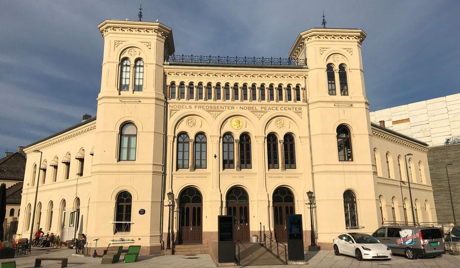 Oslo Reisebericht Alfred Nobel Friedenszentrum