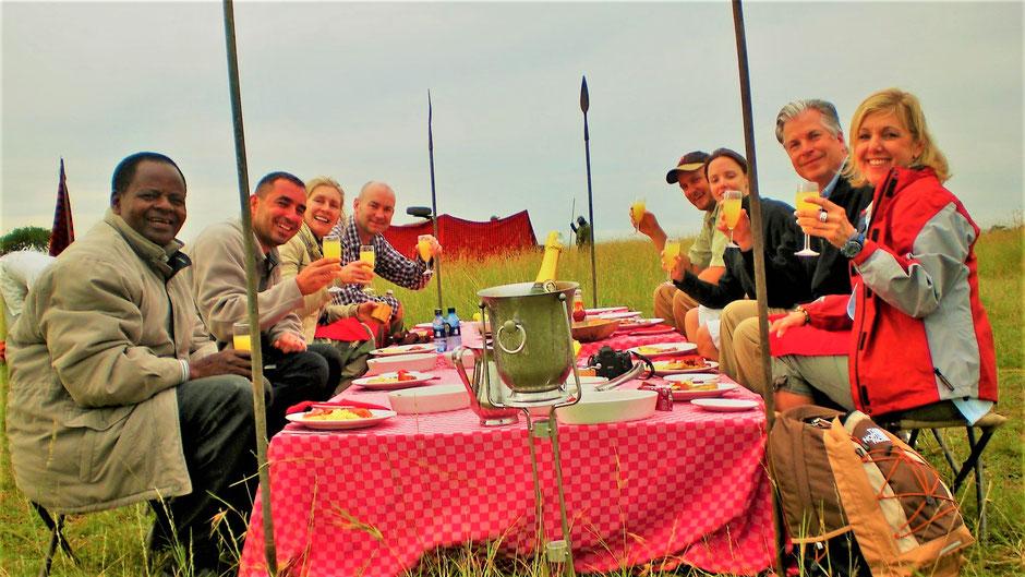 Afrika Safari Erfahrungen: Picknick Safari Kenia