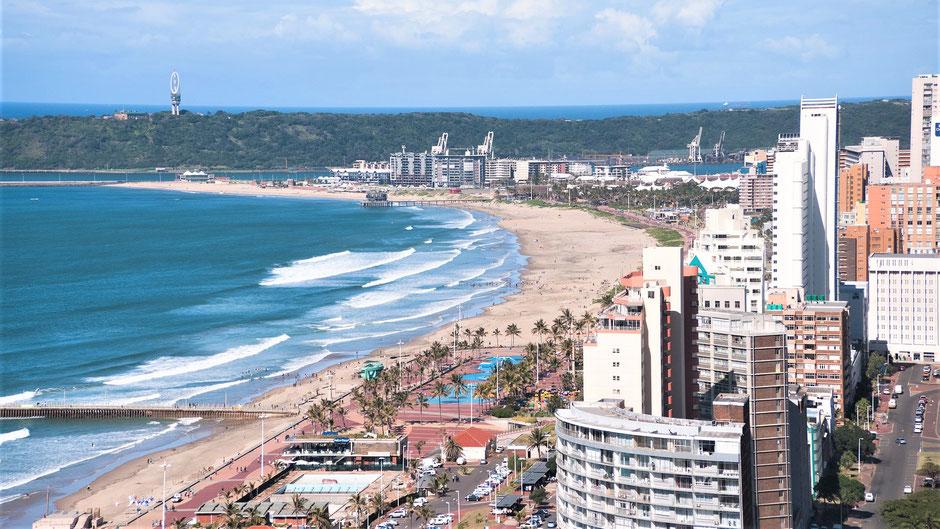 Durban Sehenswürdigkeiten: Golden Mile Beach