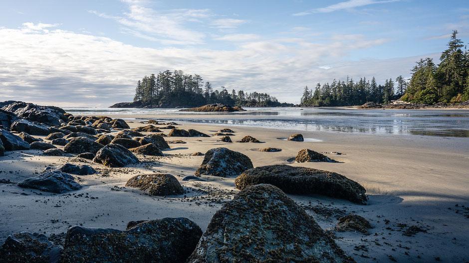 Vancouver Island Sehenswürdigkeiten - Strand von Tofino