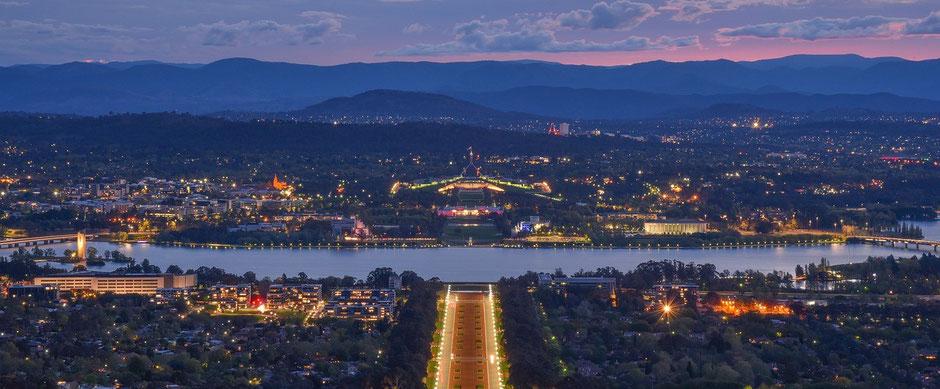 Top Australien Reiseziele : Canberra