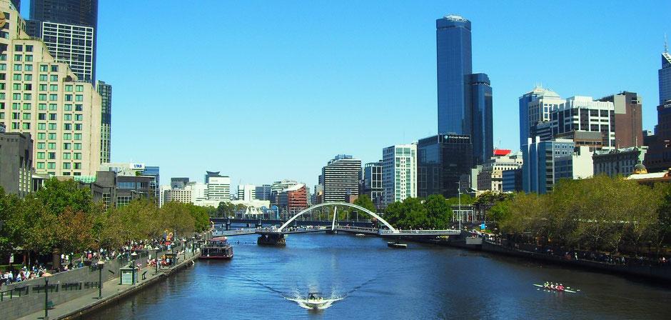 Top Städte Australien: Melbourne