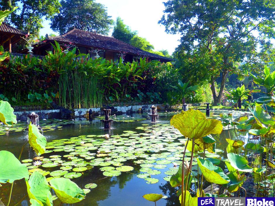 Wasserpalast Bali Tirta Gangga Bilder