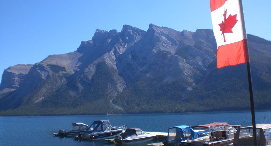 Sehenswürdigkeiten Banff Reise: Lake Minnewanka