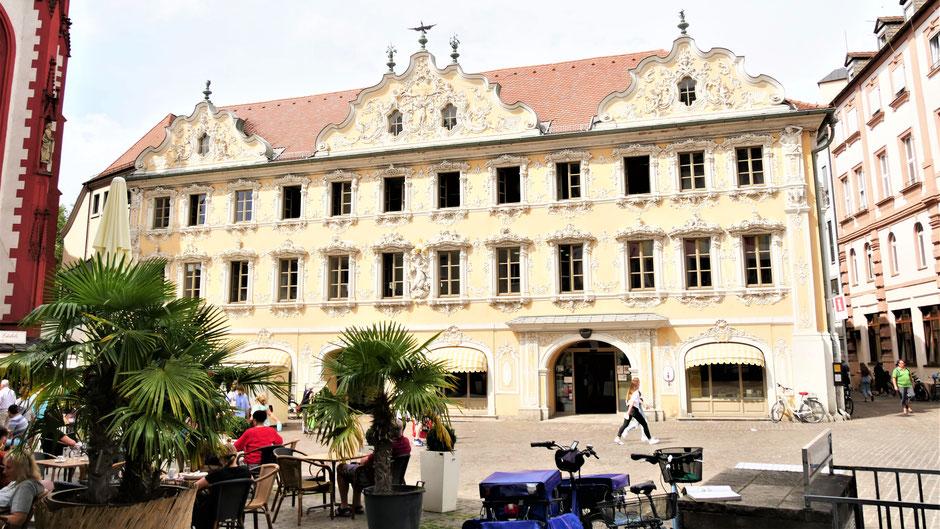 Würzburg Sehenswürdigkeiten: Das Falkenhaus