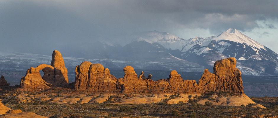 USA Rundreise Nationalparks Westen: Bizarre Felsenwelt im Arches Nationalpark