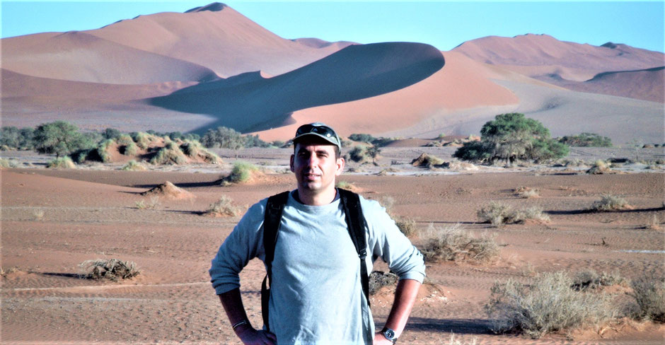 Namibia Sossusvlei Reisebericht Anreise, Lage, Route