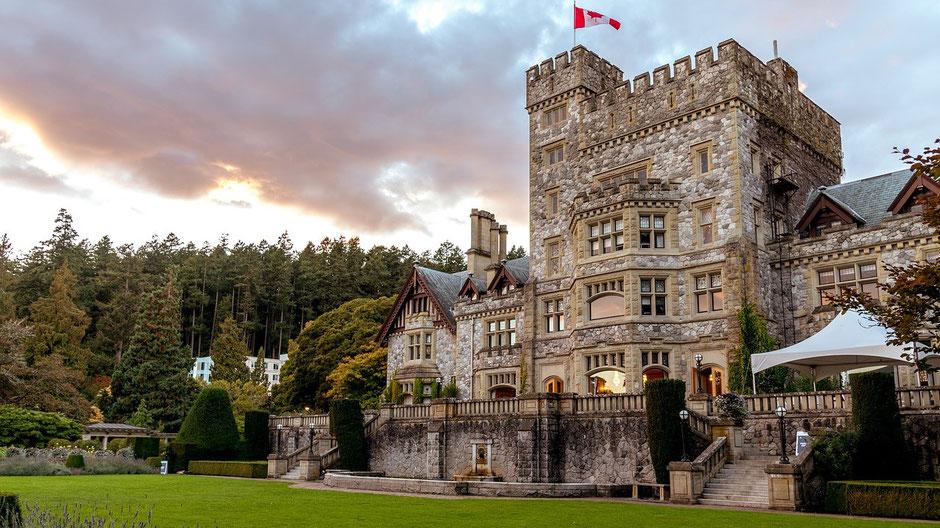 Victoria Vancouver Island Sehenswürdigkeiten Hartley Castle