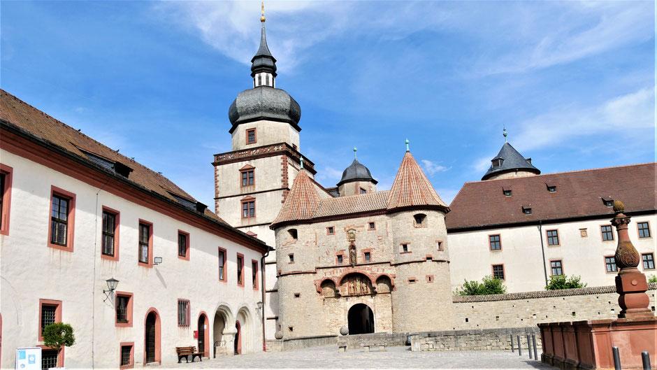 Würzburg Sehenswürdigkeiten: Festung Marienberg