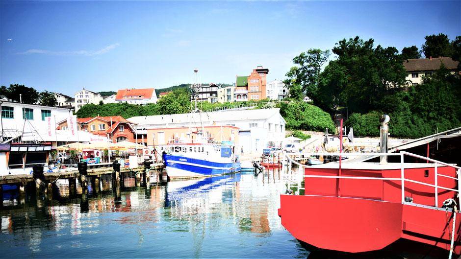 Rügen Schönste Orte: Der Hafen von Sassnitz