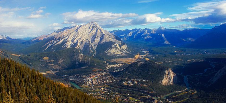 Banff National Park Sehenswürdigkeiten Banff Town