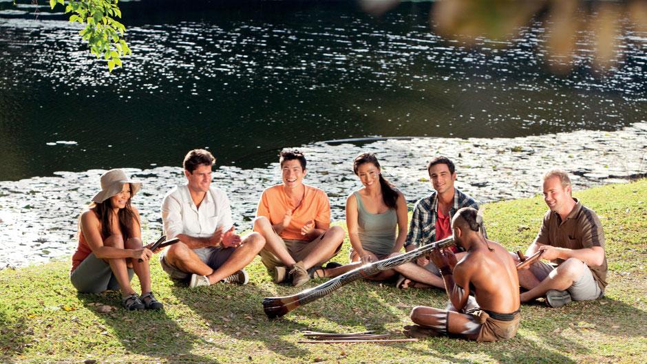 Cairns Sehenswürdigkeiten Tjapukai Aboriginal Culture Park
