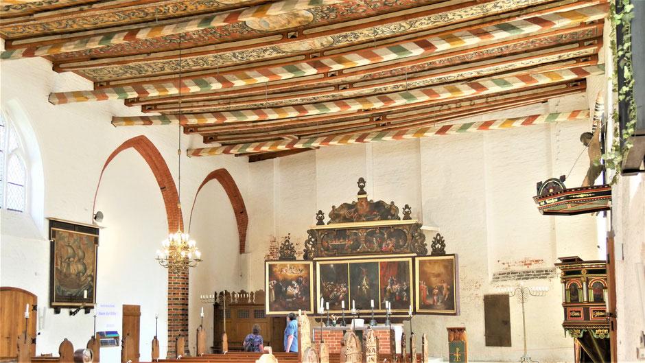 Wismar Sehenswürdigkeiten Rundgang: Die Heiligen Geist Kirche