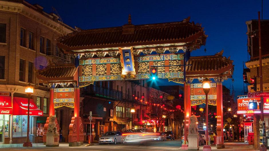 Victoria Vancouver Island Sehenswürdigkeiten Chinatown
