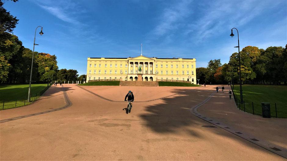 Reisen in Zeiten von Corona: Viel Abstand möglich im Schlosspark von Oslo