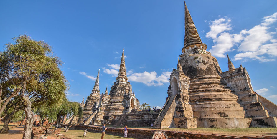 Thailand Ayutthaya Tipps -  Wat Phra Si Sanphet