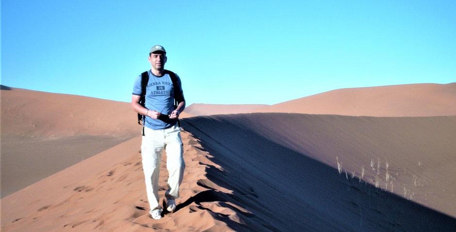 Namibia Sossusvlei National Park Düne 45