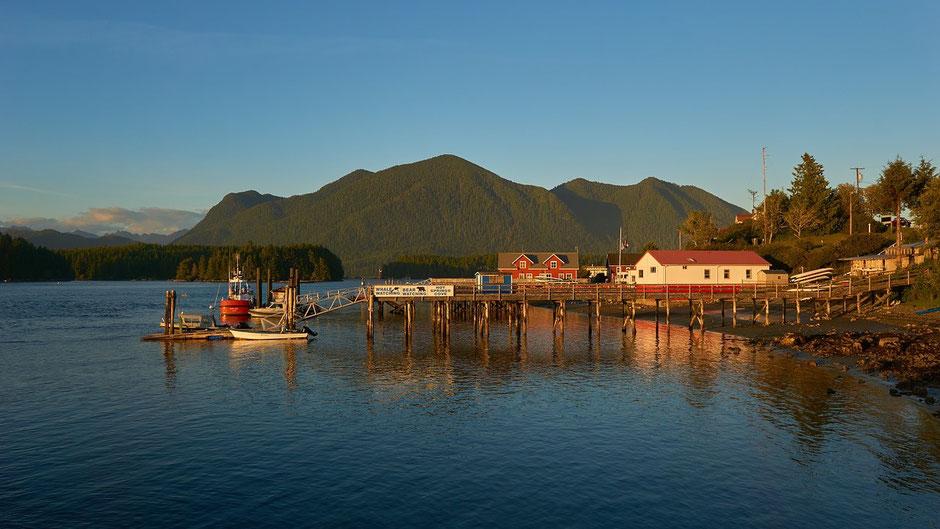 Vancouver Island Sehenswürdigkeiten - Blick auf Tofino