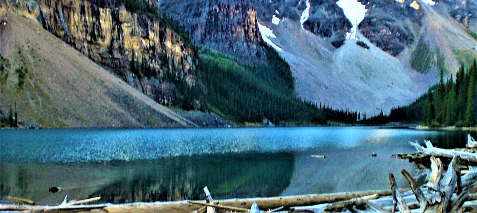 Sehenswürdigkeiten Banff Reise: Moraine Lake