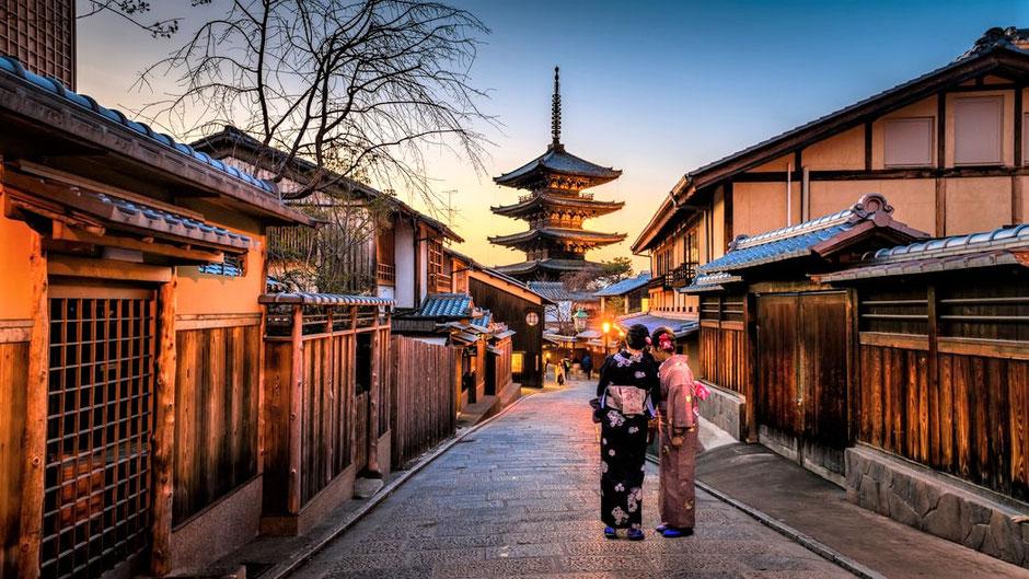 Kyoto Sehenswürdigkeiten Top 10 - Gion Viertel