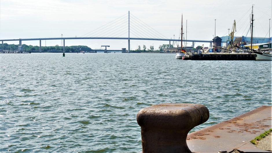 Fortsetzung der Stralsund Reise: Fahrt über die Brücke nach Rügen