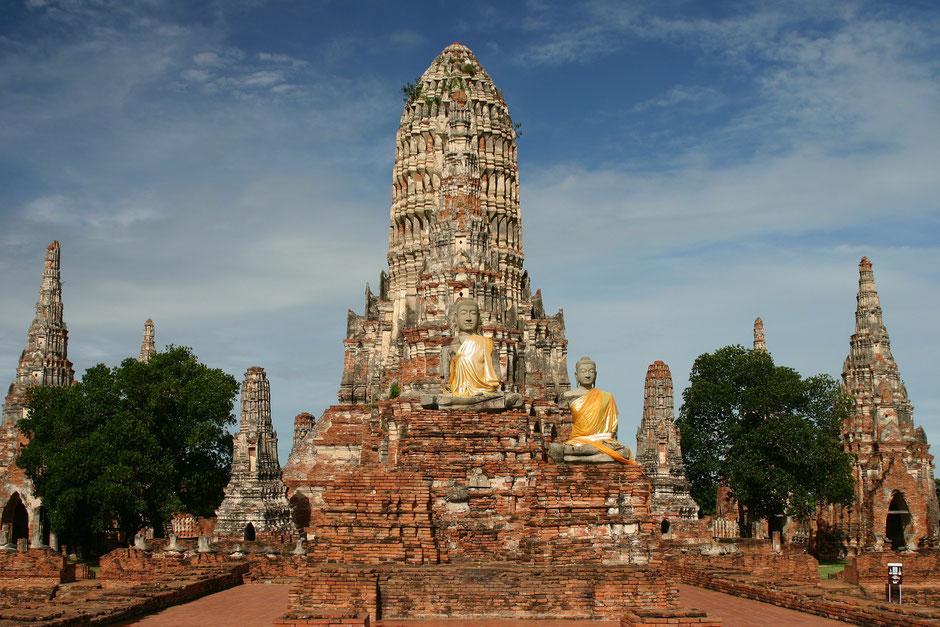 Thailand Ayutthaya Tipps -  Wat Chaiwatthanaram