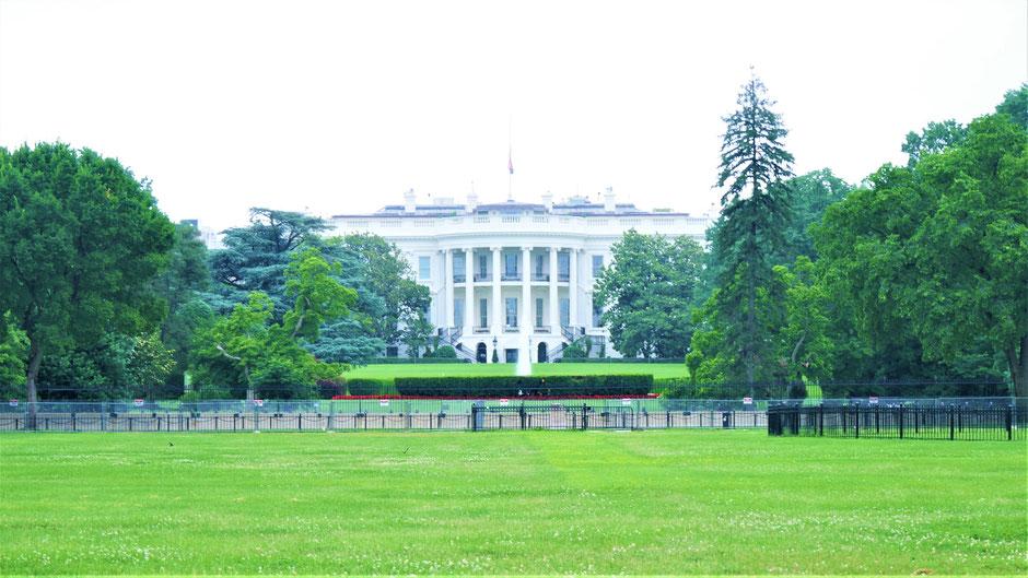 Washington Sehenswürdigkeiten: Das Weiße Haus