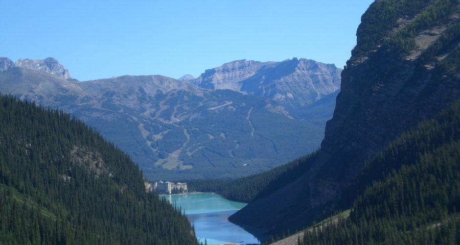 Banff National Park Sehenswürdigkeiten Lake Louise