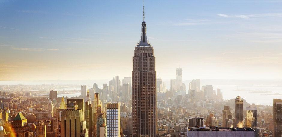 New York Reisebericht Bekannt aus Film und Fernsehen: Das Empire State Building