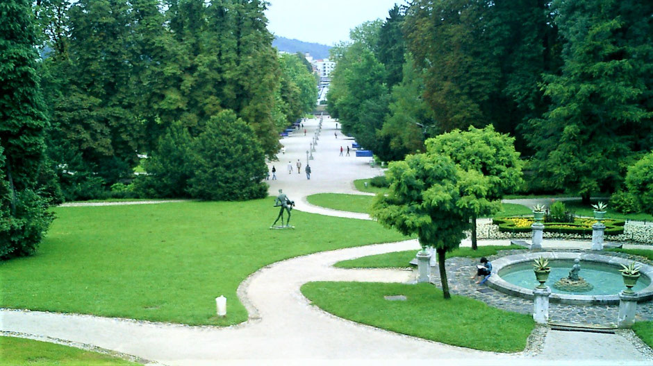 Ljubljana Sehenswürdigkeiten Tivoli Park