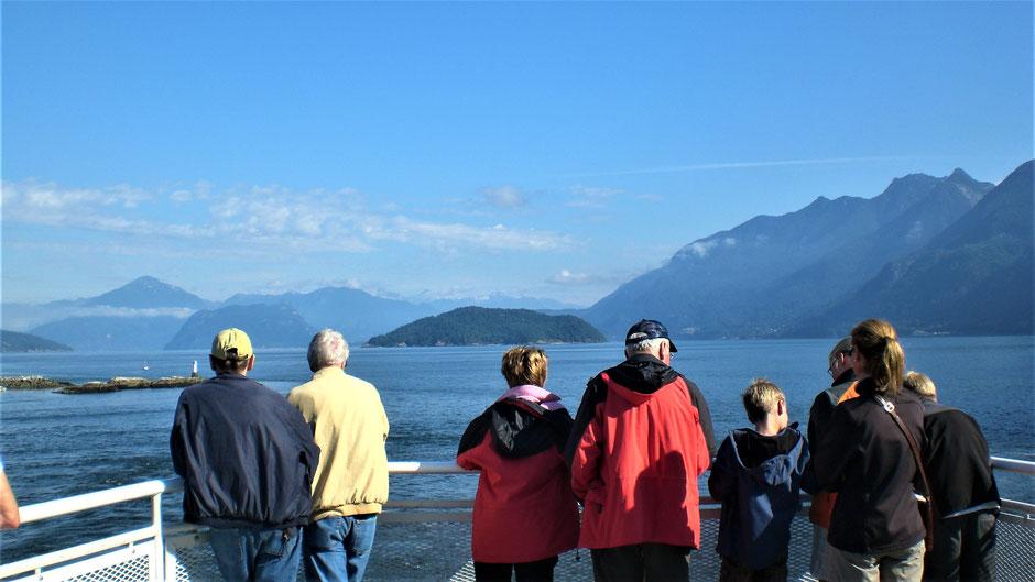 Vancouver Island Sehenswürdigkeiten - Fährfahrt