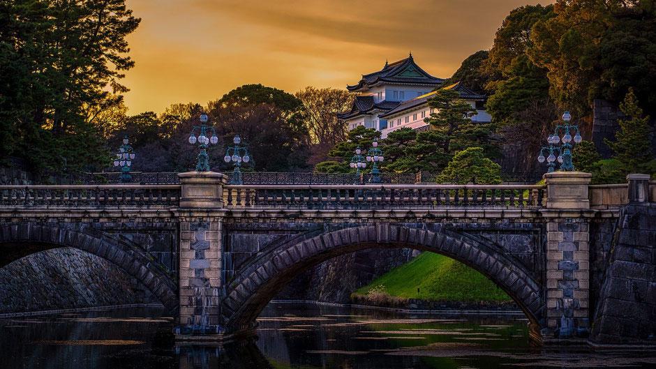 Tokio Reiseblog Kaiserpalast