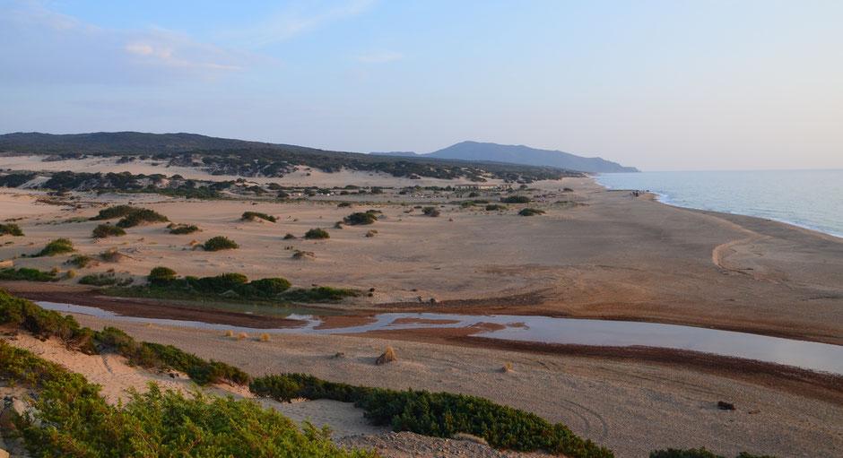 Costa Verde, Strand Spiaggia di Piscinas