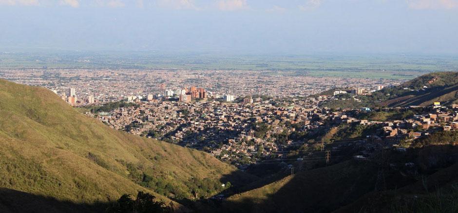 Die 2,4-Millionen-Einwohner Stadt Cali