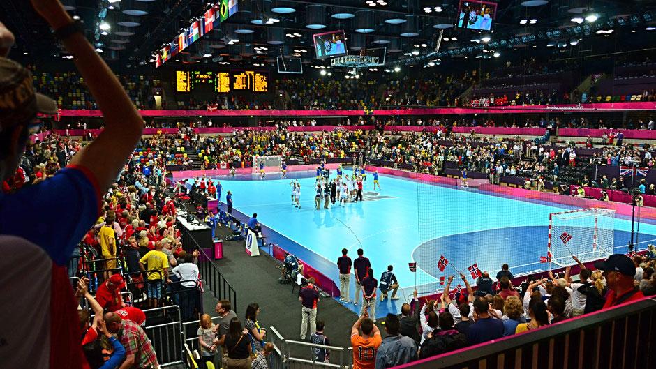 Zuschauer bei einem Handballspiel