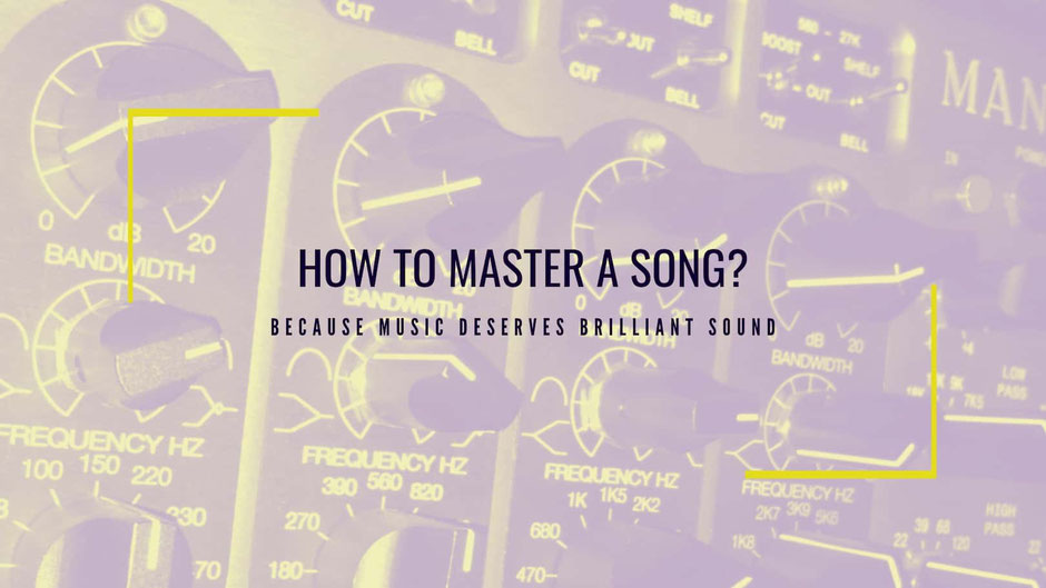Mastering Chain: How to Master a Song