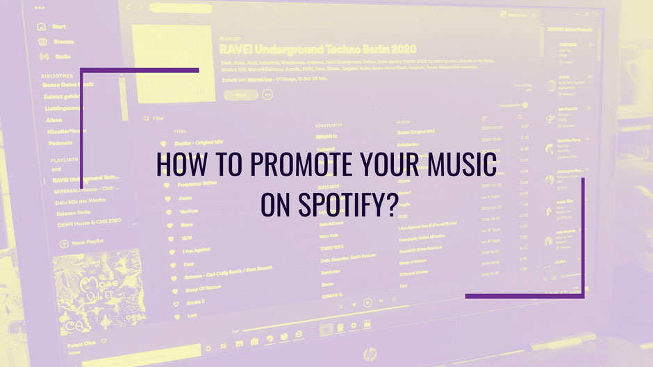 Free Spotify Promotion: Playlist Submissions and How to get Spotify Plays