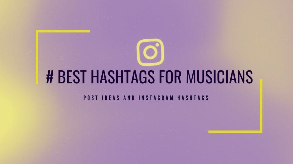 Best Music Hashtags Instagram 2019 & Content Ideas - Mastrng com