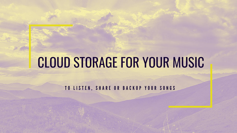 Best Cloud Music Storage and Audio File Hosting 2019