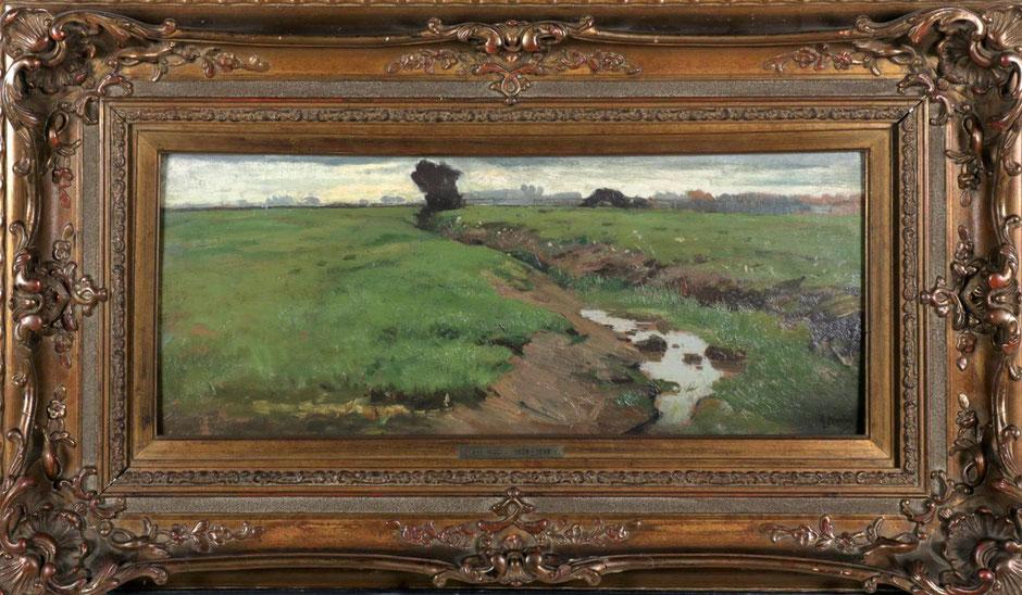 te_koop_aangeboden_een_landschap_schilderij_van_de_haagse_school_kunstschilder_anton_mauve_1838-1888