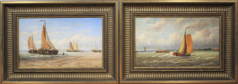 te_koop_aangeboden_een_pendant_van_marine_gezichten_van_de_nederlandse_kunstschilder_hendrik_hulk_1842-1937