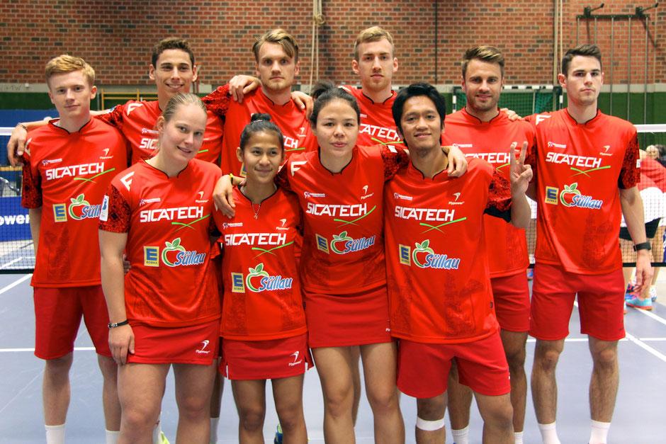 Mannschaft Saison 2017/2018 TSV Trittau Badminton 1. Bundesliga