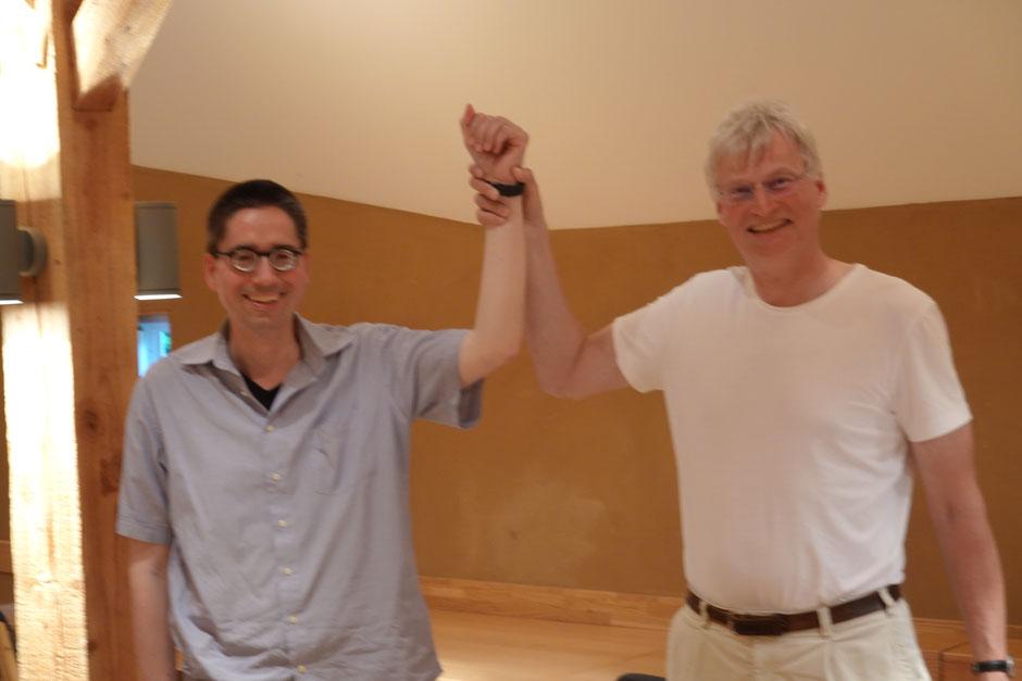 Punktgleiche Sieger nach 11 Runden: Thomas Strege und Till Abicht