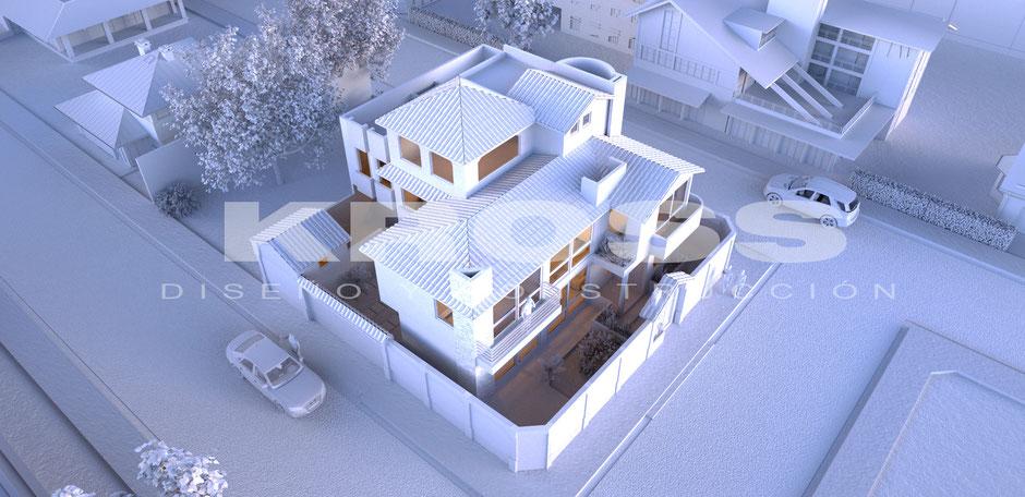 Octane render arquitectura