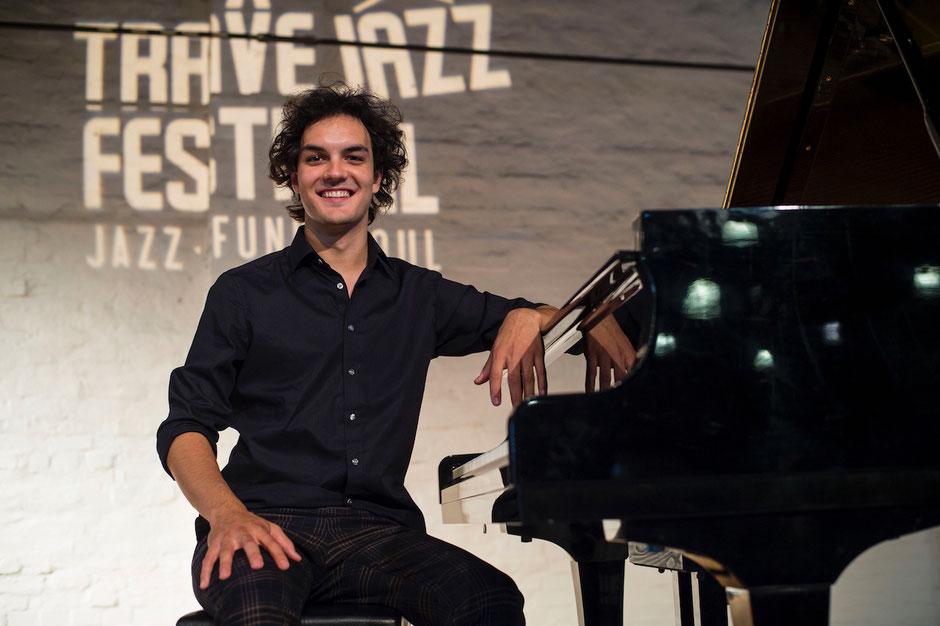 Leon Sladky, Preisträger des 5. Lübecker Jazzpreises aus dem Jahr 2020