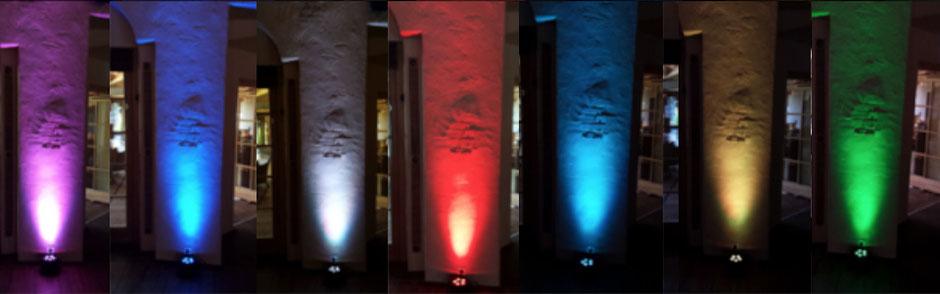 DJ Metzingen Floorspot, Beleuchtung