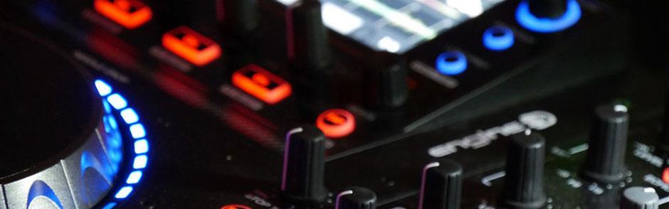 DJ Metzingen Headerbild Technik, Mischpult