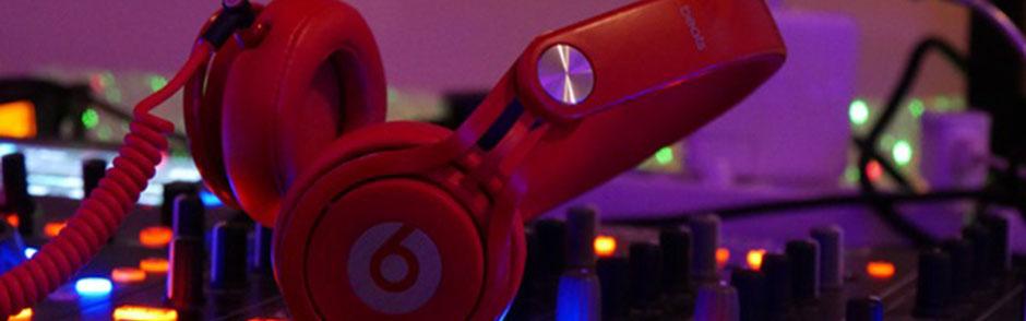 DJ Metzingen Headerbild Home, Kopfhörer