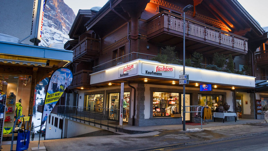 shopping clothes store Grindelwald