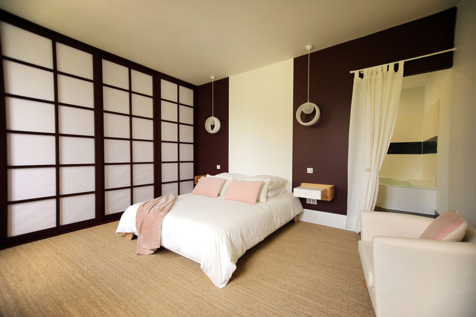 chambre japonaise les r ves de flamboin. Black Bedroom Furniture Sets. Home Design Ideas